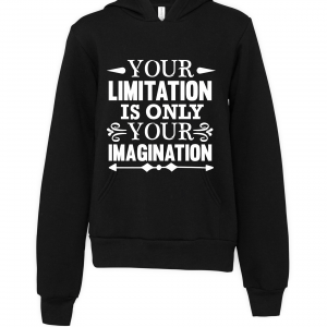 black imagination limitations hoodie