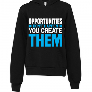 black opportunities dont happen hoodie