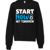 black start now not tomorrow hoodie