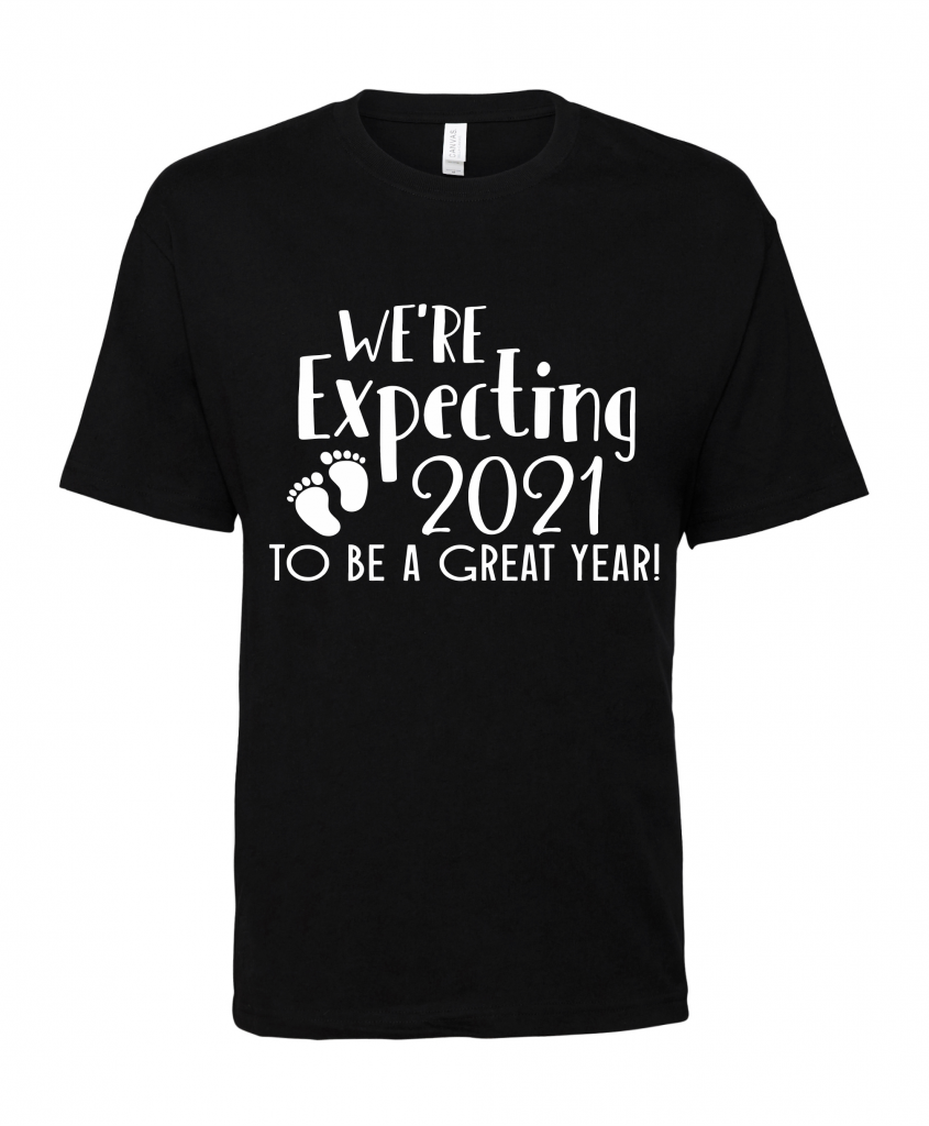 black were expecting t shirt