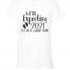 white were expecting t shirt