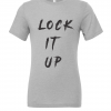 grey lock it up t shirt