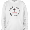 white one blood premade hoodie