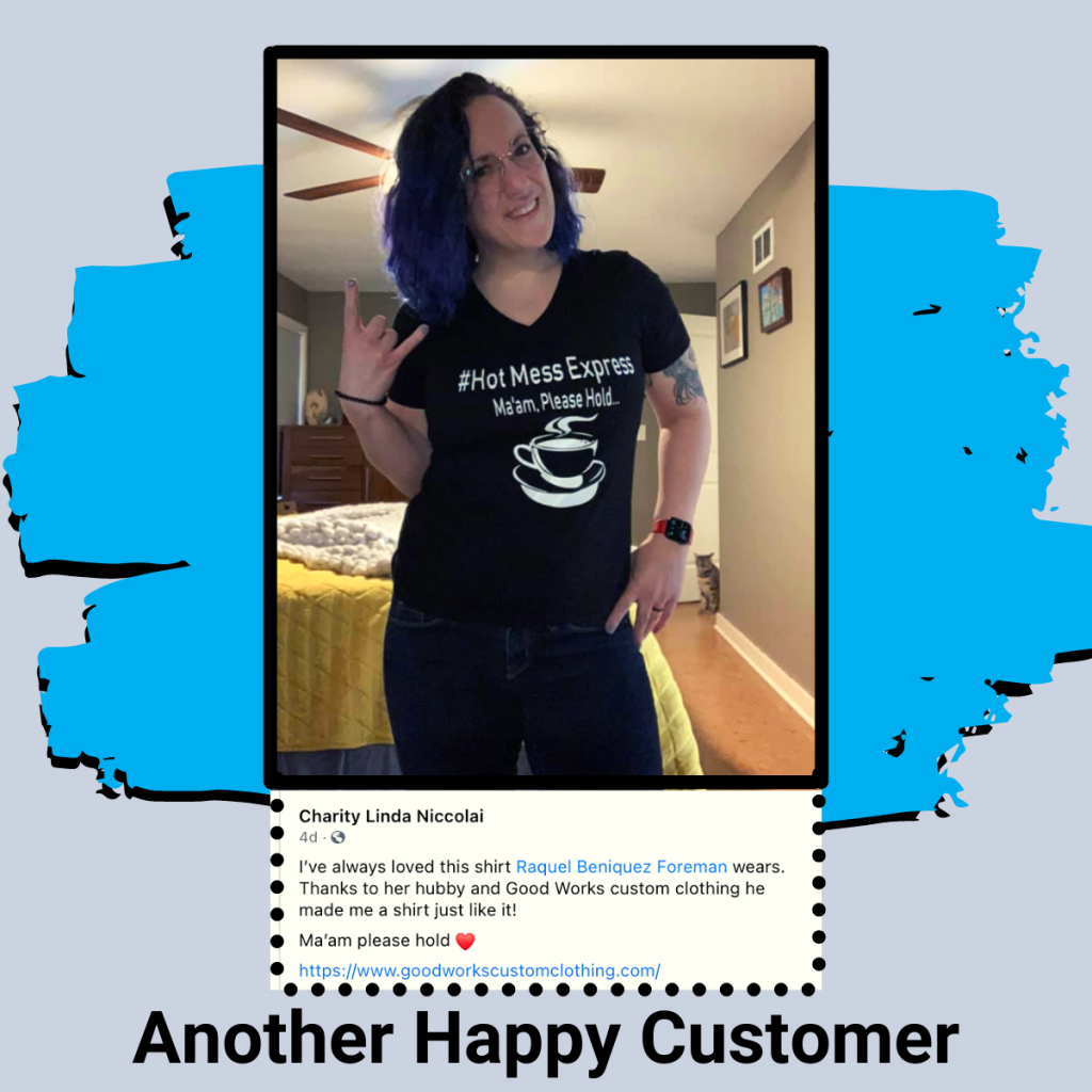 custom clothing testimonials clayton nc